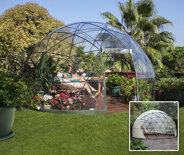 garden igloo gew chshaus wintergarten mit sommer und. Black Bedroom Furniture Sets. Home Design Ideas