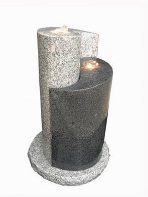 ying yang granit brunnen. Black Bedroom Furniture Sets. Home Design Ideas