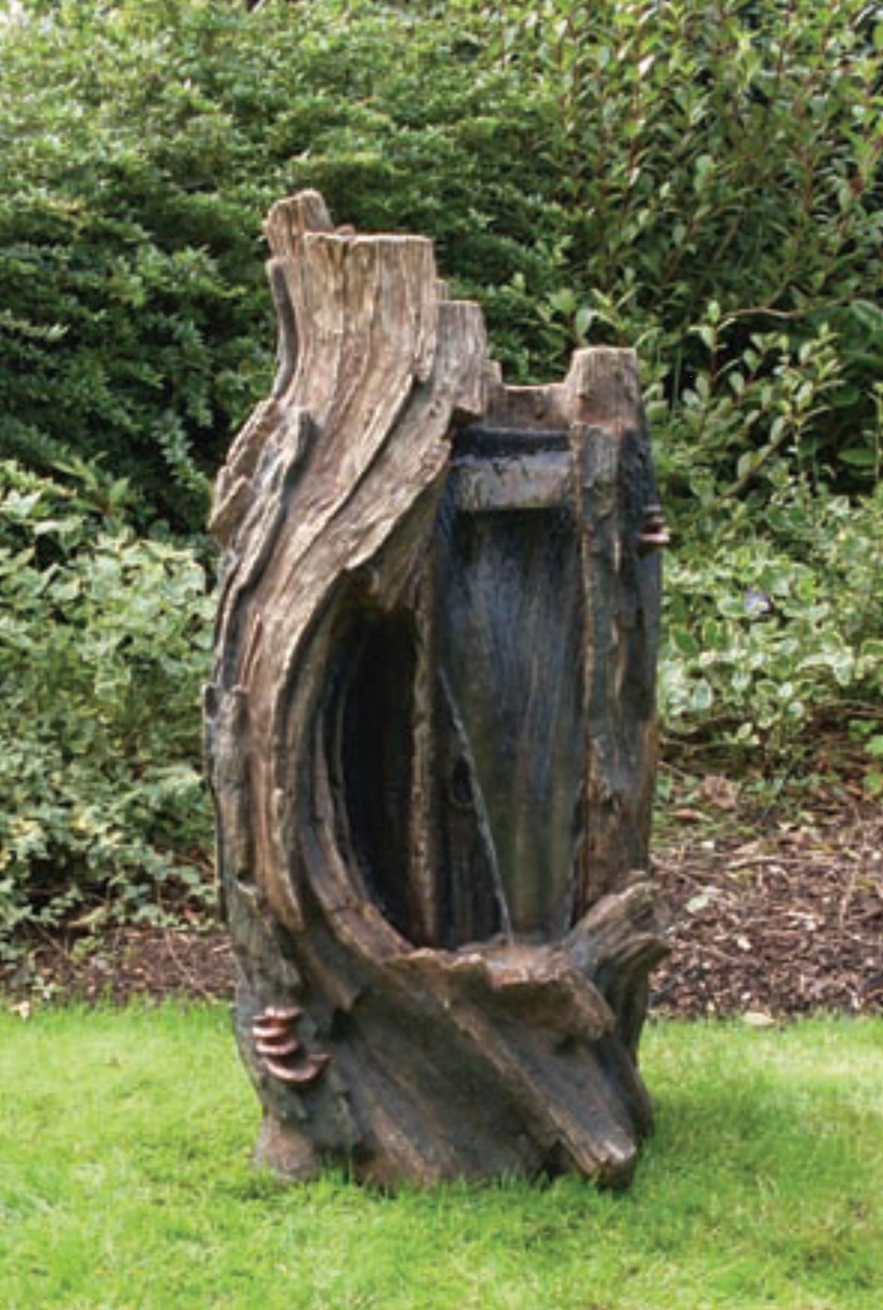 Inspirierend Holzstamm Deko Garten Schema