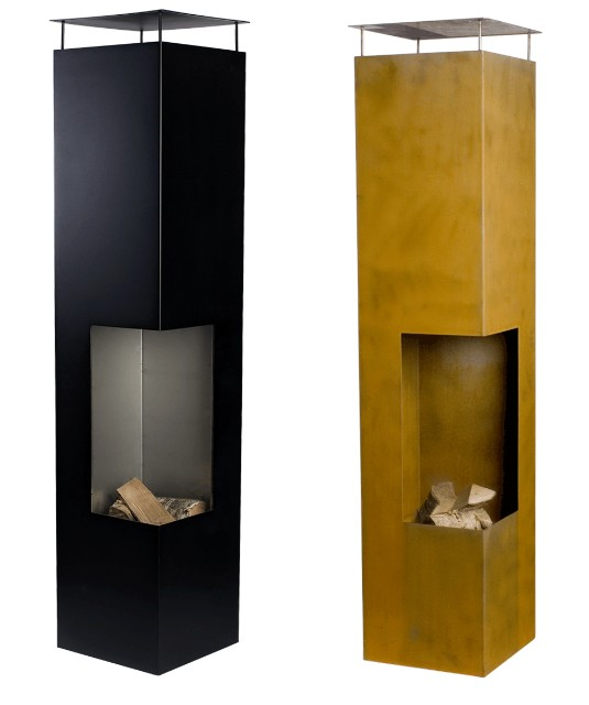 tacora gartenkamin aus stahl. Black Bedroom Furniture Sets. Home Design Ideas