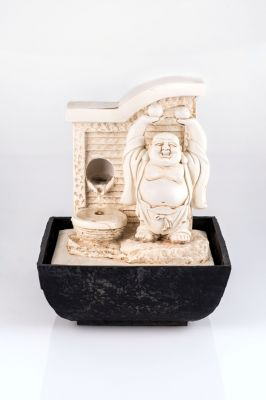 pajoma tischbrunnen buddha mit led beleuchtung 44 99. Black Bedroom Furniture Sets. Home Design Ideas