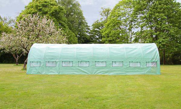 new leaf tunnel gew chshaus 8m x 3m 219 99. Black Bedroom Furniture Sets. Home Design Ideas