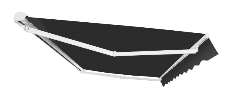 1 5m elektrische halbkassettenmarkise anthrazit 399 99. Black Bedroom Furniture Sets. Home Design Ideas