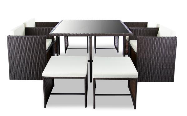 Gartenmobel Sofa Rund : Arboro™ Rattan GartenmöbelSet Beaumont, braun 609,99€