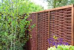6ft (1.82m) Framed Willow Hurdles Fencing Panels Papillon�