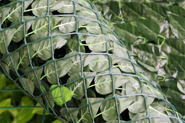 papillon k nstlicher efeu sichtschutz 3m x 1m 32 99. Black Bedroom Furniture Sets. Home Design Ideas