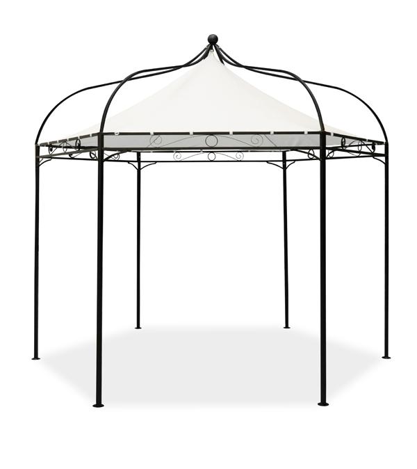 gartenpavillion harlington deluxe mit stahlrahmen und dach 169 99. Black Bedroom Furniture Sets. Home Design Ideas