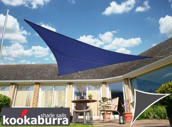 kookaburra 4 2m x 4 2m x 6 0m rechtwinkliges dreieck blau. Black Bedroom Furniture Sets. Home Design Ideas