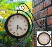 Bahnhofsuhr mit Thermometer - About Time�