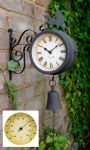 Gartenuhr mit Thermometer - About Time�