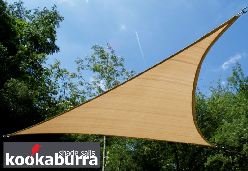 kookaburra 4 2m x 4 2m x 6 0m rechtwinkliges dreieck rechtwinkliges dreieck sandfarben. Black Bedroom Furniture Sets. Home Design Ideas