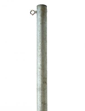 3m mast zur befestigung eines sonnensegels inkl. Black Bedroom Furniture Sets. Home Design Ideas