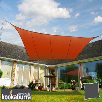 ersatzstoff inkl volant f r 6m x 3m markisen terrakotta 159 99. Black Bedroom Furniture Sets. Home Design Ideas
