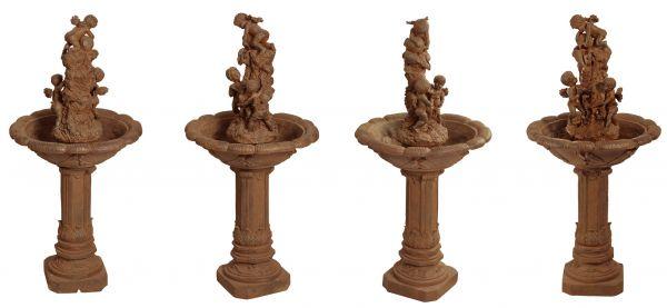 engel brunnen wasserbrunnen gartenbrunnen springbrunnen garten wasser dekoration ebay. Black Bedroom Furniture Sets. Home Design Ideas