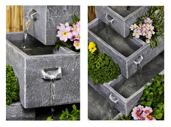 bepflanzbarer solarbrunnen perth 99 99. Black Bedroom Furniture Sets. Home Design Ideas