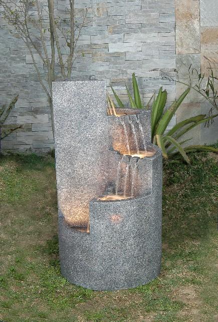 Runder Brunnen mit Granit-Effekt 239,99 €