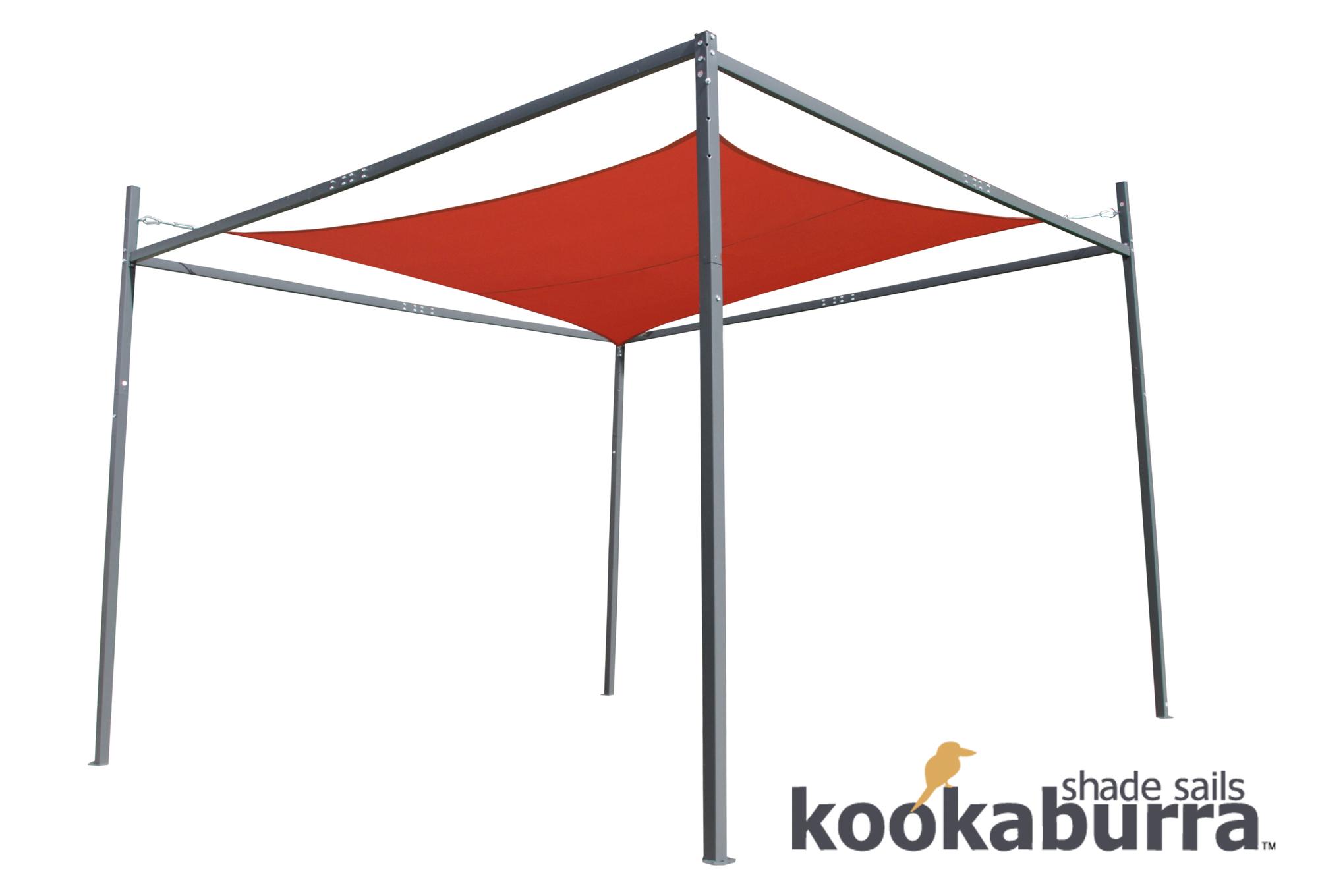 Kookaburra™ Sonnensegel-Rahmen - H 2,7 m, B 3,5 m x T 3,5 m 119,99 €