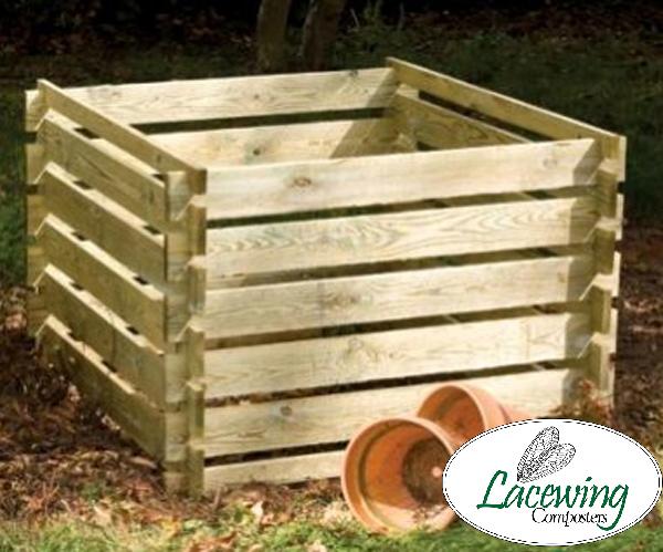 1575 Liter Komposter Aus Holz 70cm X 150cm X 150cm Lacewing 97 99