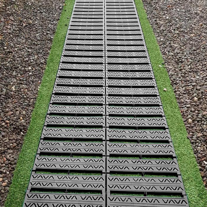 Rollbarer Gartenweg Grau 300cm X 77cm 49 99