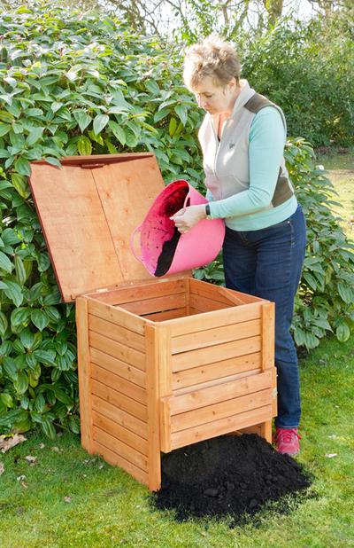 komposter aus holz 80cm x 60cm x 60cm 288 liter 79 99. Black Bedroom Furniture Sets. Home Design Ideas
