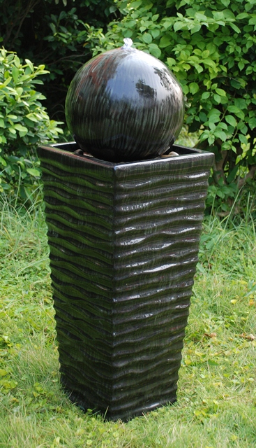 catalina keramik brunnen mit led beleuchtung 224 99. Black Bedroom Furniture Sets. Home Design Ideas