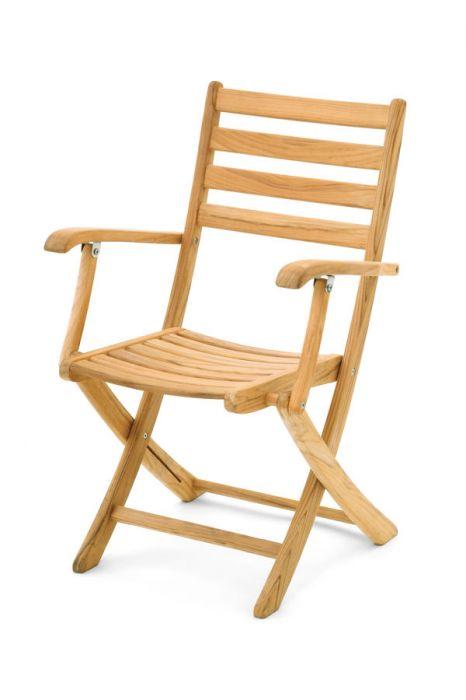 belardo klappstuhl mit armlehne rivula 179 00. Black Bedroom Furniture Sets. Home Design Ideas