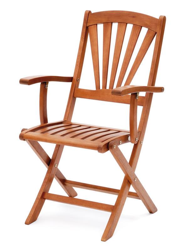 belardo klappstuhl mit armlehne pallidana 79 00. Black Bedroom Furniture Sets. Home Design Ideas