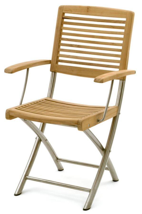belardo klappstuhl mit armlehne triodia 209 00. Black Bedroom Furniture Sets. Home Design Ideas