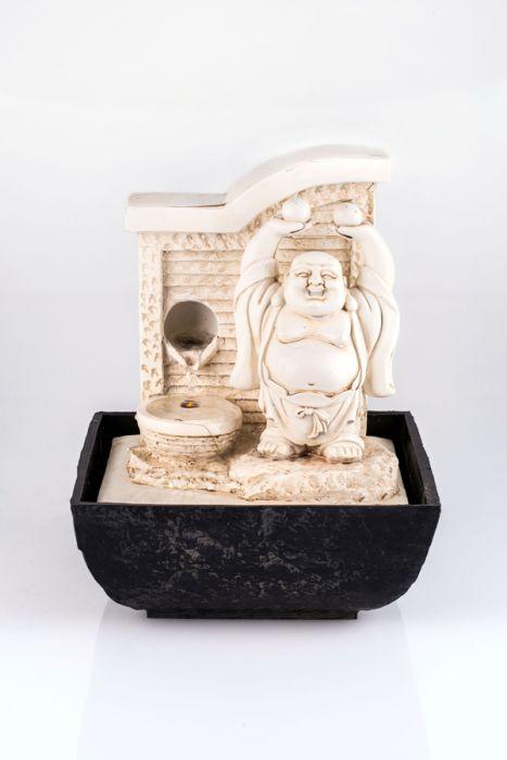pajoma tischbrunnen buddha mit led beleuchtung 44 99. Black Bedroom Furniture Sets. Home Design Ideas