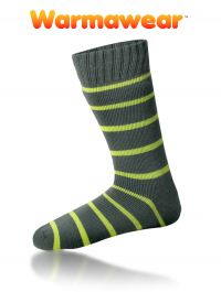 Thermosocken mit Streifenmuster, Warmawear™