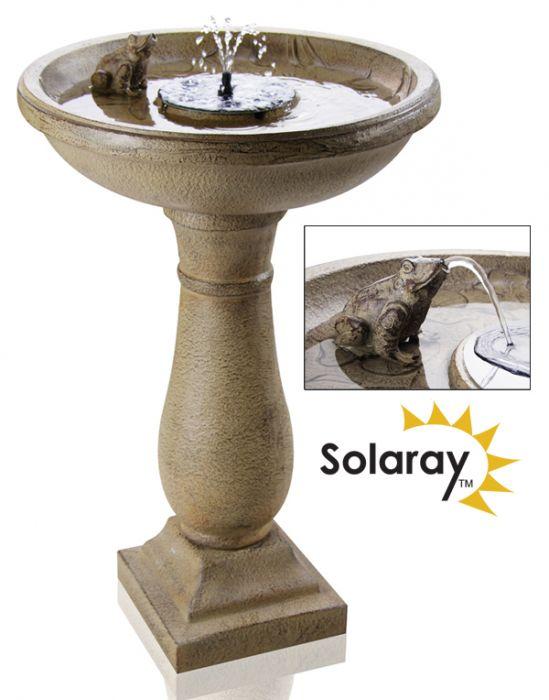 Solaray™ Solar-Vogeltränke \