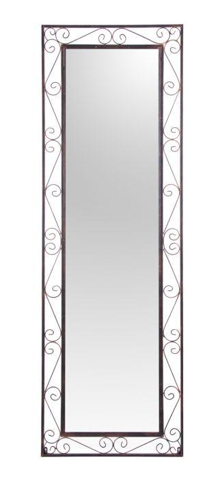 Rechteckiger spiegel mit metallrahmen 149 99 - Spiegel mit metallrahmen ...