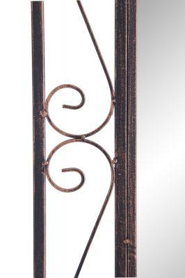 rechteckiger spiegel mit metallrahmen 149 99. Black Bedroom Furniture Sets. Home Design Ideas