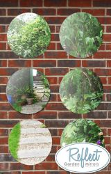 Reflect™ 6er-Set Gartenspiegel aus Acryl, 40cm