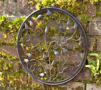 "Wanddeko ""Circle of Harmony"" aus Metall, 40cm"