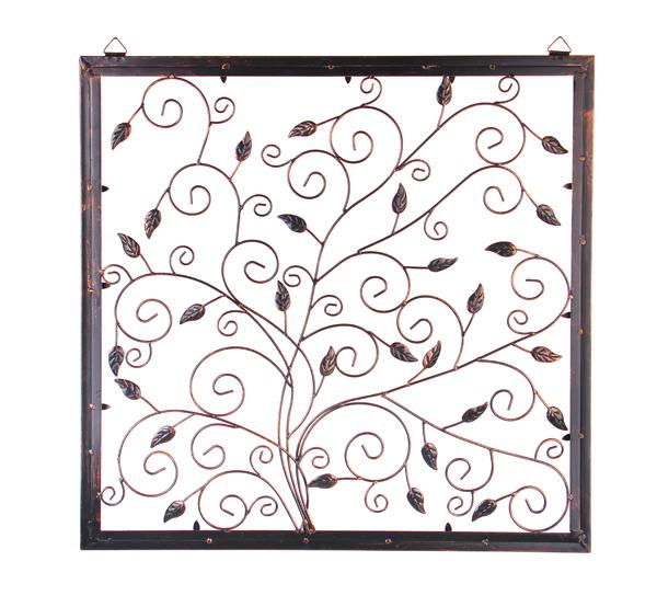 wanddeko baum des lebens aus metall 60cm x 62cm 64 99. Black Bedroom Furniture Sets. Home Design Ideas