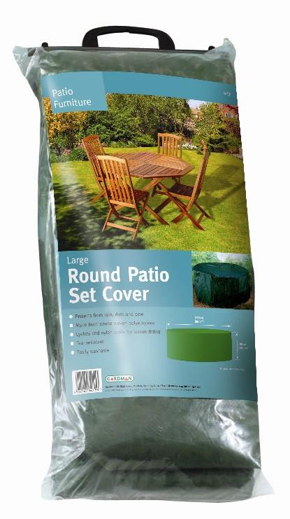 gardman 225 cm abdeckung f r runden tisch mit 8 st hlen 39 99. Black Bedroom Furniture Sets. Home Design Ideas