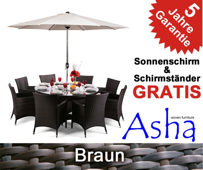Asha™ Gartenmöbel-Set \