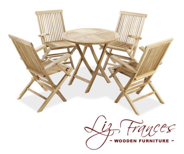 gartenm bel set aus a klasse teakholz lakeland 5 tlg 364 99. Black Bedroom Furniture Sets. Home Design Ideas