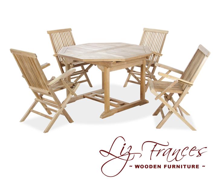 gartenm bel set aus a klasse teakholz lakeland 5 tlg 659 99. Black Bedroom Furniture Sets. Home Design Ideas