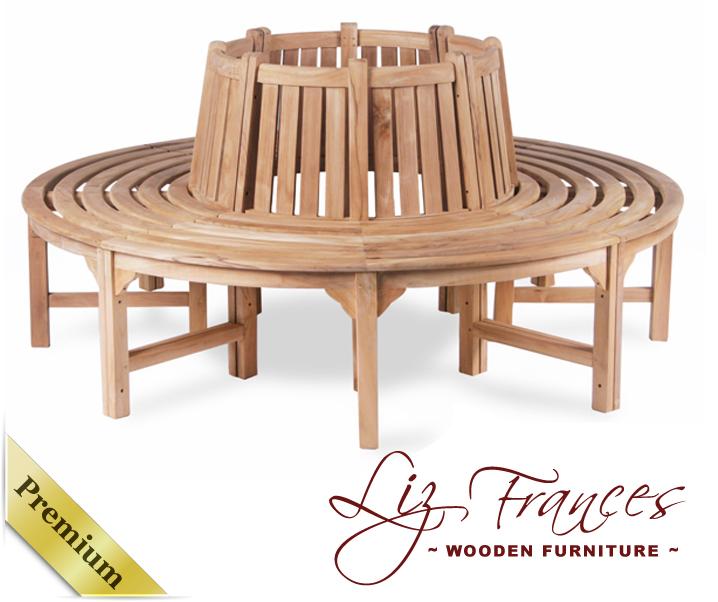 liz frances 180cm runde baum bank 39 hayle 39. Black Bedroom Furniture Sets. Home Design Ideas