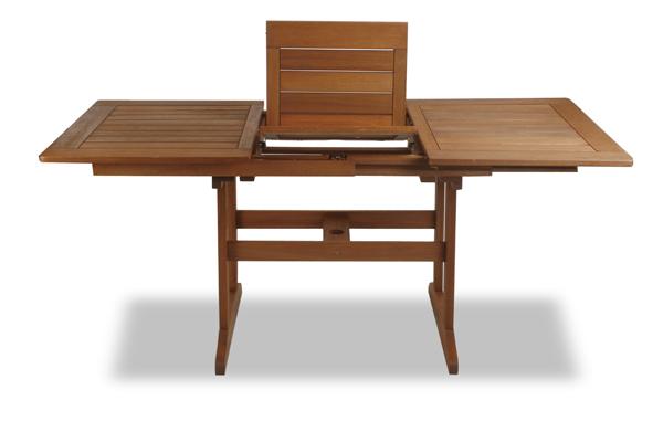 earlywood ausziehbarer gartentisch mit 6 ilford st hlen. Black Bedroom Furniture Sets. Home Design Ideas