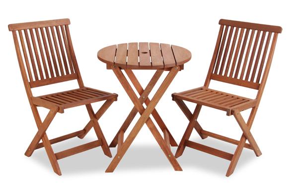 earlywood ilford bistro set f r 2 personen aus hartholz. Black Bedroom Furniture Sets. Home Design Ideas