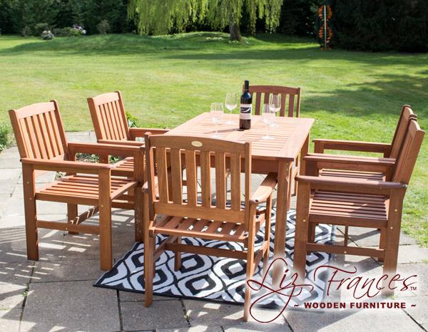 liz frances gartenm bel set kendal and oakham aus hartholz 499 99. Black Bedroom Furniture Sets. Home Design Ideas
