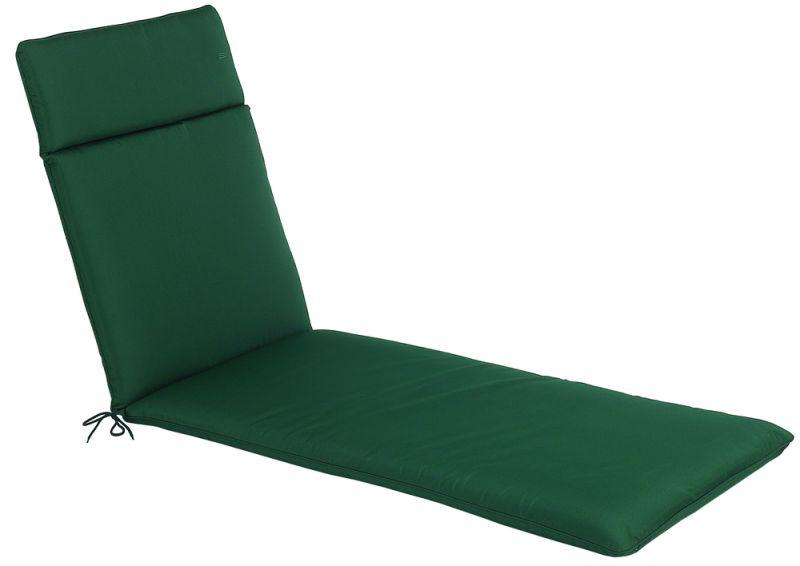gr ne auflage der cc collection f r eine sonnenliege 64 99. Black Bedroom Furniture Sets. Home Design Ideas