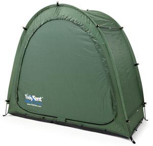 fahrradzelt mit sicherheitshalterung von tidy tent 74 99. Black Bedroom Furniture Sets. Home Design Ideas