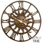 "About Time™ Dekorative Gartenuhr ""Sonne"", 38cm"