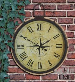 Gartenuhr mit Seemotiven, 50cm, About Time™