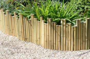 beeteinfassung aus bambus 1 2m x 30cm 29 99. Black Bedroom Furniture Sets. Home Design Ideas