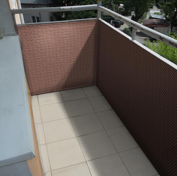 sichtschutz aus polyrattan 200cm meterware braun papillon 39 99. Black Bedroom Furniture Sets. Home Design Ideas